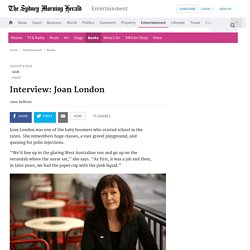Interview: Joan London