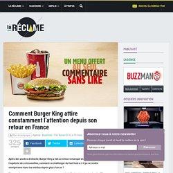 interview de Jocelyn Olive directeur général de Burger King et de son agence Buzzman