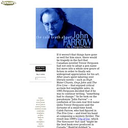 Interview | John Farrow