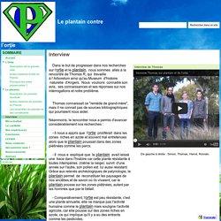 Interview - Le plantain contre l'ortie
