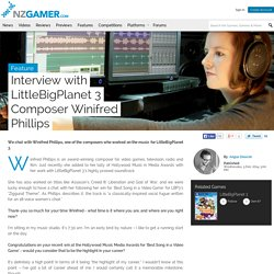 Interview with LittleBigPlanet 3 Composer Winifred Phillips - NZGamer.com