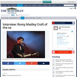 Interview: Romy Madley Croft of the xx