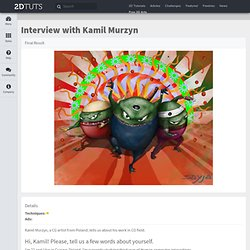 Interview with Kamil Murzyn | Painting.DTuts - Free Tutorials by Digital Painting and Mattepainting