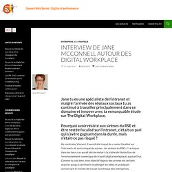 Interview de Jane McConnell autour des Digital workplace