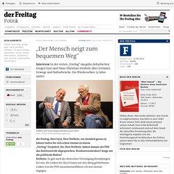 "Interview ǀ ""Der Mensch neigt zum bequemen Weg"""