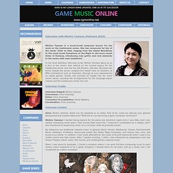 Interview with Michiru Yamane (February 2010)
