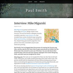 Interview: Mike Migurski - Paul Smith