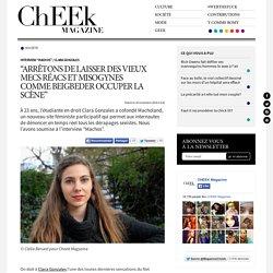 """Interview """"Machos"""" de Clara Gonzales: """"Arrêtons de laisser des vieux mecs réacs et misogynes comme Beigbeider occuper la scène"""""""