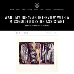 An Interview with a Missguided Design Assistant - Missguided