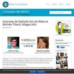Interview de Nathalie Van de Wiele et Michèle Tillard, Sillages.info