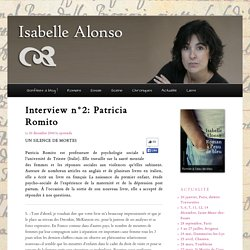 Interview n°2: Patricia Romito
