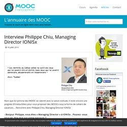 Interview Philippe Chiu, Managing Director IONISx