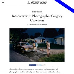 Interview with Photographer Gregory Crewdson