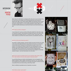 Interview with Martin Pyper on Posters in Amsterdam