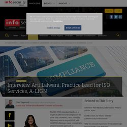 Interview: Arti Lalwani, Practice Lead for ISO Services, A-LIGN