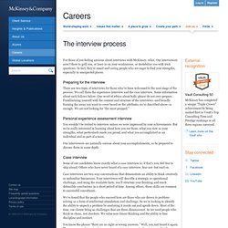Approaching the case | Careers