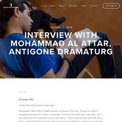 Interview with Mohammad Al Attar