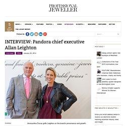 INTERVIEW: Pandora chief executive Allan Leighton