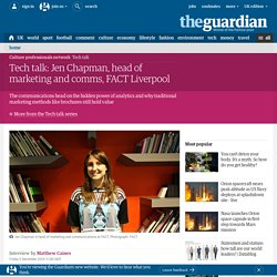 Interview with Jen Chapman, head of comms, FACT Liverpool