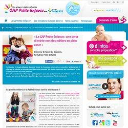 Métiers de la Petite Enfance - Interview d'une professionnelle de l'enfance