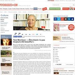 Interview de Toni Morrison