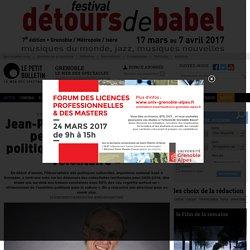 Infos Grenoble : Interview de Jean-Pierre Saez - Jean-Pierre Saez : « Rien ne peut remplacer une politique publique ferme et volontaire » - entretien publié par Aurélien Martinez 57292