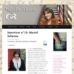 Interview n°15: Muriel Salmona