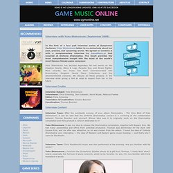 Interview with Yoko Shimomura (September 2009)