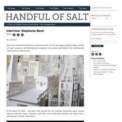 Interview: Stephanie Beck - handful of salt