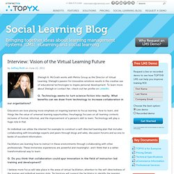 Interview: Director of Virtual Learning Illustrates Vision of the Future - Social Learning Blog