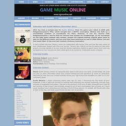 Interview with Austin Wintory (December 2012)