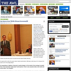 An Interview With Glenn Greenwald