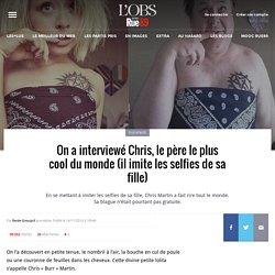 Chris, le père le plus cool du monde, imite les poses de sa fille sur les réseaux sociaux !