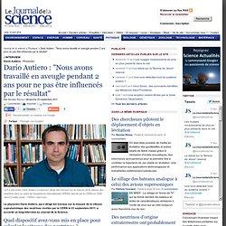 Dario Autiero est interviewé par le Journal de la Science sur ses travaux concernant la vitesse des neutrinos › Physique