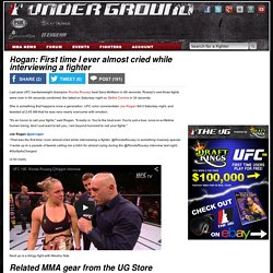 Rogan: First time I ever almost cried while interviewing a fighter - Mixed Martial Arts News