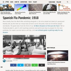 Spanish Flu Pandemic - 1918 - History - Interviews - Aftermath - Worst Disasters