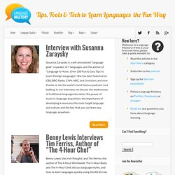 Interviews Archives - Language Mastery | Language Mastery