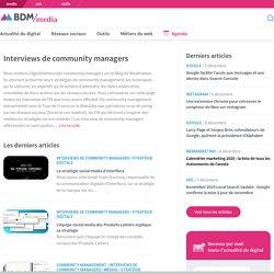 Interviews de community managers