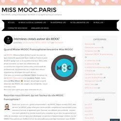 Interviews croisés autour des MOOC