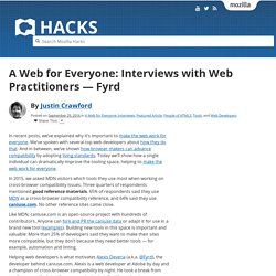 A Web for Everyone: Interviews with Web Practitioners — Fyrd