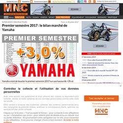 Interviews - Premier semestre 2017 : le bilan marché de Yamaha