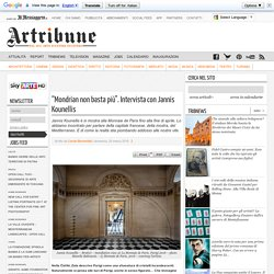 Intervista con Jannis Kounellis