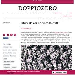Intervista con Lorenzo Mattotti
