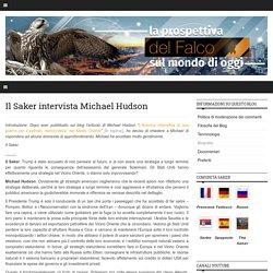 Il Saker intervista Michael Hudson