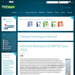 Interwrite Workspace LE GRATUIT pour TOUS