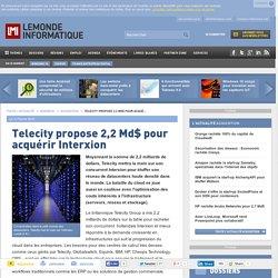 Telecity va mettre la main sur les datacenters d'Interxion pour 2,2 Md$