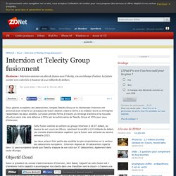 Interxion et Telecity Group fusionnent