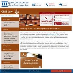 Estate Lawyers Western Australia