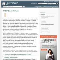 INTESTIN, pathologie