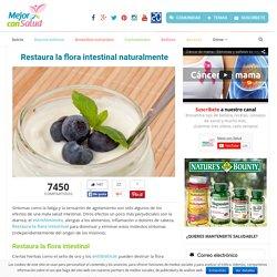 Restaura la flora intestinal naturalmente